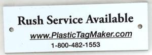 Plastic Engraved Plates