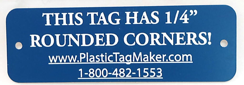 Plastic Name Tags Engraved Plastic