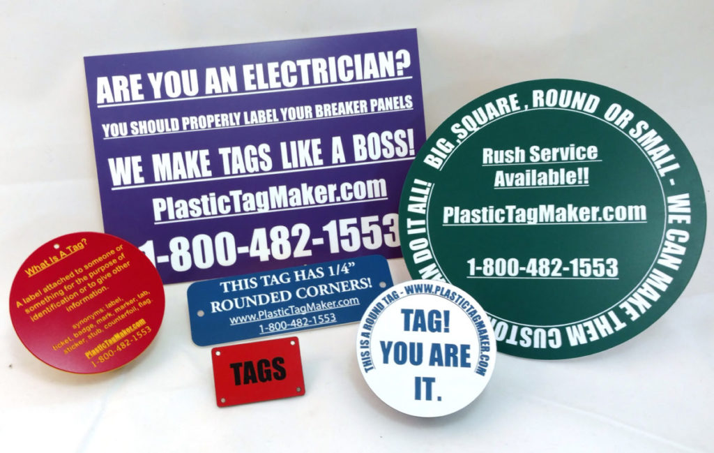 Custom Plastic Tag - A Label for Life!